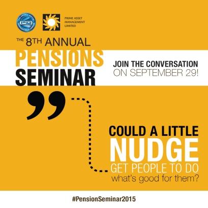 PRIME Pensions Seminar Meme Join the Convo